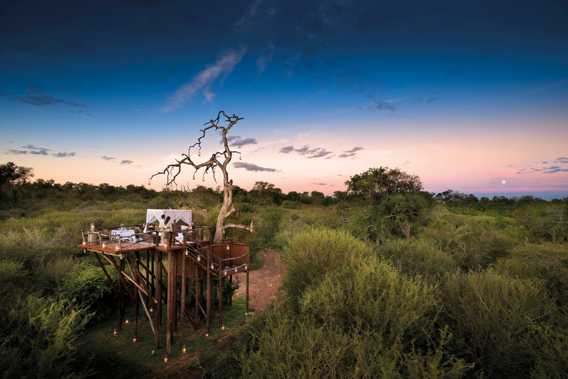 ©Lion Sands, Ivory Lodge Treehouse